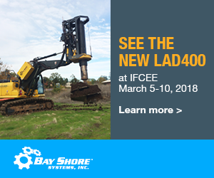 Bay Shore Systems - See the New LAD400 - Piling Canada Website - Piling Canada 2018